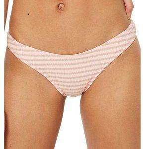 Topshop bikini bottoms, high cut, Size - 8, NWT